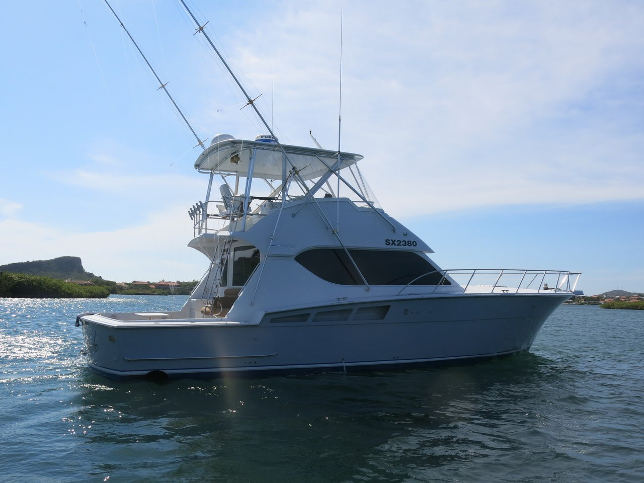 153573.59f304ed39eff244758211cb.xl 1999 used hatteras convertible boat for sale $349,000 Hatteras Sportfish 45C at virtualis.co