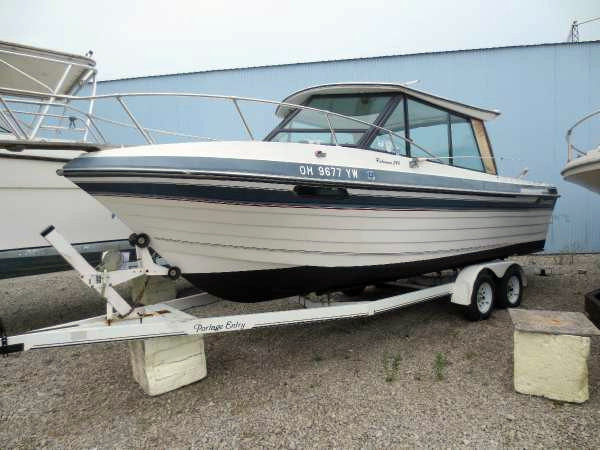 1988 used thompson freshwater fishing boat for sale for Fishing boats for sale in ohio