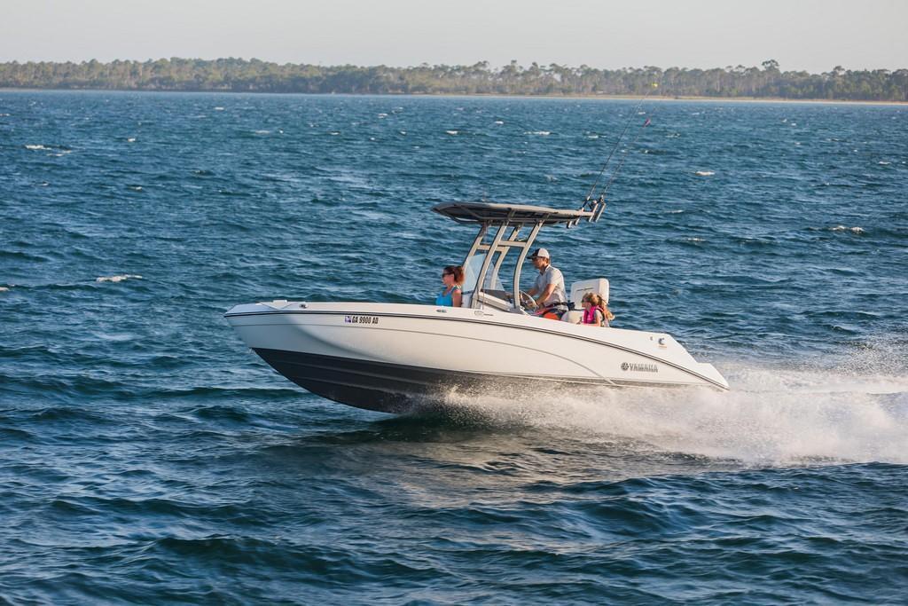2018 new yamaha sport boat 210 fsh sport center console for Yamaha fishing boats