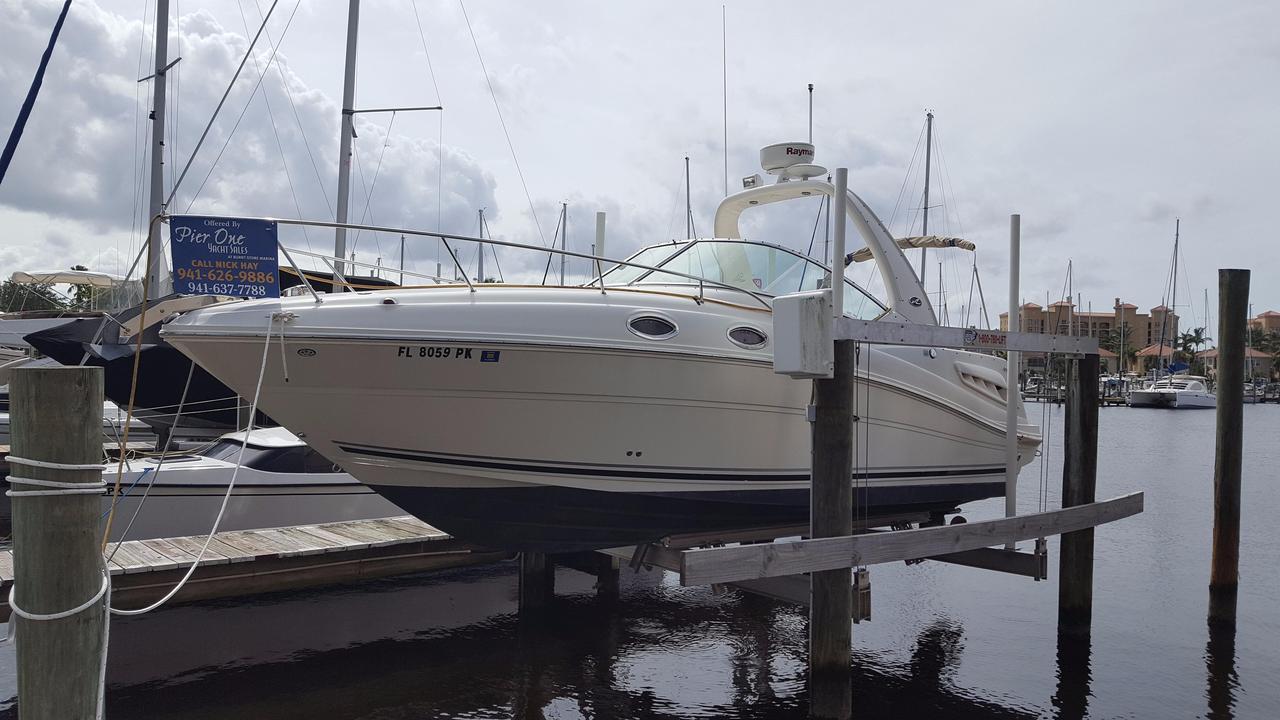 2005 Used Sea Ray 260 Sundancer Cruiser Boat For Sale 38 500