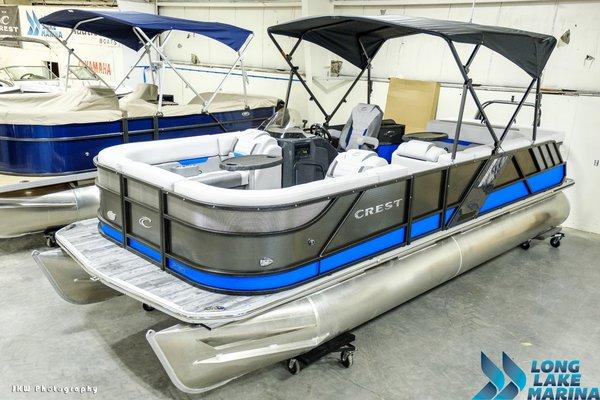 New Crest Caliber 230Caliber 230 Pontoon Boat For Sale