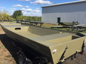 New Lowe Roughneck 1860 BIG RIVER Jon Boat For Sale