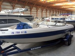 Used Stingray Boats 195FX Ski and Fish Boat For Sale