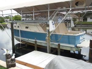 Used Mainship 30 Pilot Rum Runner Classic Downeast Fishing Boat For Sale