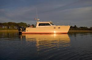 Used Buzzards Bay 33 Power Catamaran Boat For Sale