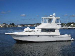 Used Silverton 42 Convertable Flybridge Boat For Sale