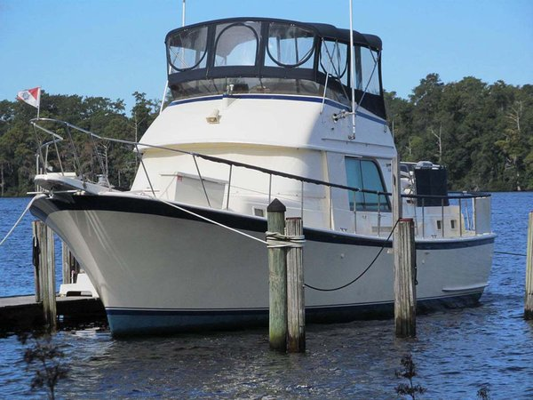 Used Hatteras 42 LRC Mark l Cruiser Boat For Sale