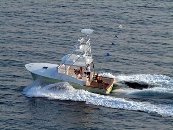 Used Jersey Cape Custom Express Cruiser Boat For Sale
