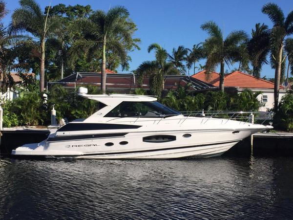 Used Regal 46 Sport Coupe Express Cruiser Boat For Sale