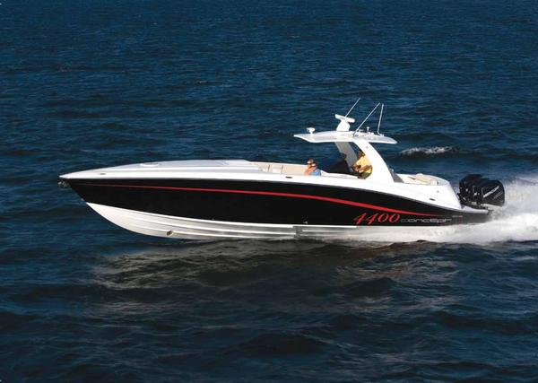 Used Concept 4400 Sport Yacht High Performance Boat For Sale