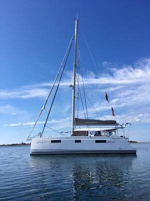Used Nautitech Open 40 Catamaran Sailboat For Sale