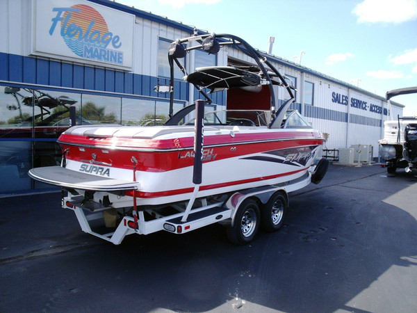Used Supra Launch 22V Ski and Wakeboard Boat For Sale