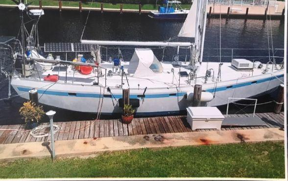Used Bruce Roberts Custom Sloop Sailboat For Sale
