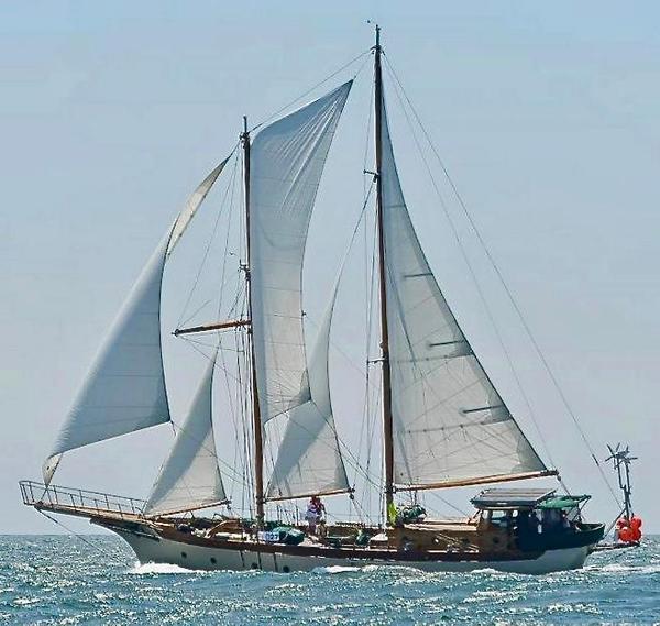 Used Pankey Staysail Schooner Sailboat For Sale