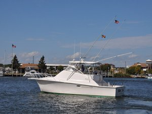 Used Ocean Yachts 40 Sportfish Cruiser Boat For Sale