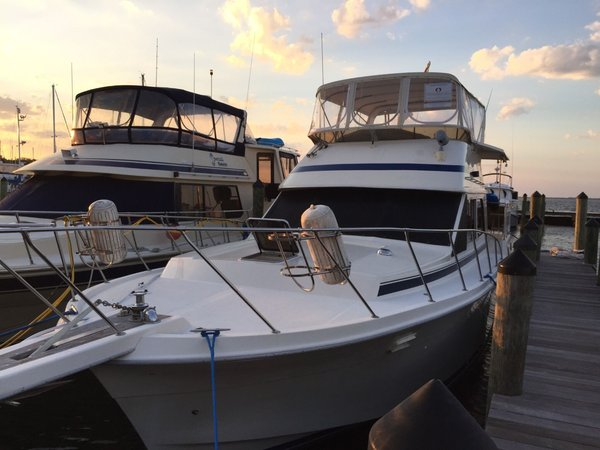 Used Chris Craft 426 Catalina Aft Cabin Boat For Sale