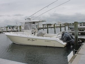 Used Cobia 317 Center Console Fishing Boat For Sale
