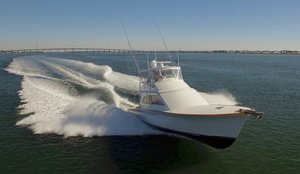 Used Jarrett Bay Custom Carolina Convertible Fishing Boat For Sale