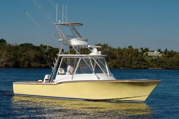 Used L&h 33 Express Walk Around Sports Fishing Boat For Sale