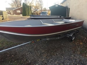 New Lund WC-16 Sports Fishing Boat For Sale