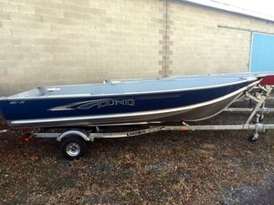 New Lund WC-14 Pontoon Boat For Sale