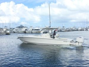 Used Jupiter 32 Cuddy Center Console Fishing Boat For Sale