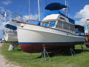 Used Grand Banks Sedan Trawler Boat For Sale