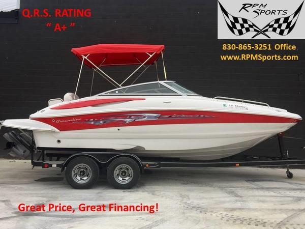 Used Crownline 220 EX220 EX Deck Boat For Sale