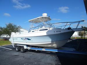 Used Aquasport 250 Explorer Center Console Fishing Boat For Sale