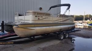 Used Lowe Pontoon Boat For Sale