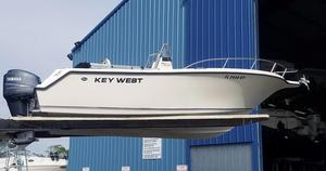 Used Key West 225 Center Console Sports Fishing Boat For Sale