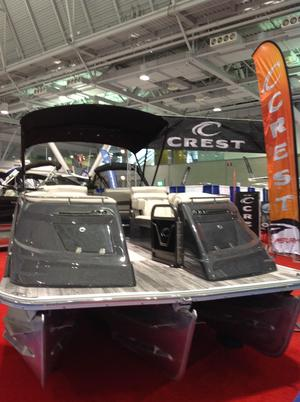 New Crest Continental 270 NX-CS Pontoon Boat For Sale