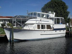 Used Ocean Alexander Aft Deck Trawler Aft Cabin Boat For Sale