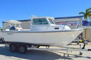 New Parker 2120 Sport Cabin Walkaround Fishing Boat For Sale