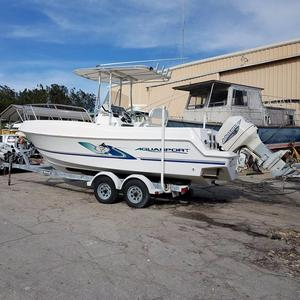 Used Aquasport 235 Osprey Center Console Fishing Boat For Sale