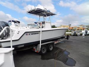 Used Contender Center Console Fishing Boat For Sale