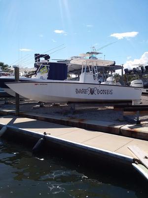 Used Custom Rambo 27 CC Saltwater Fishing Boat For Sale