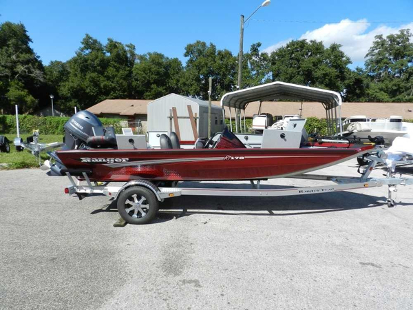 Used Ranger RT-178 Bass Boat For Sale