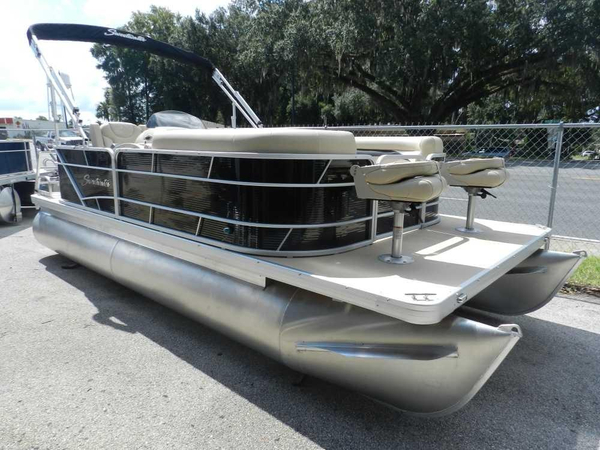 New Sweetwater 2086 Bow Fish Coastal Edition Pontoon Boat For Sale