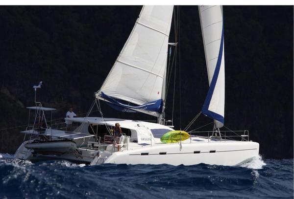 Used Nautitech 47 Catamaran Sailboat For Sale