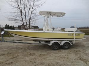 Used Tidewater 2100 Sea Max Center Console Fishing Boat For Sale