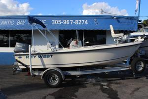 Used Key West 1720 Center Console Center Console Fishing Boat For Sale