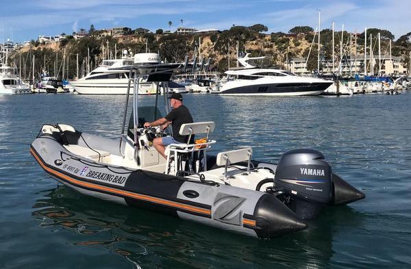 Used Zodiac Pro Open 650 Tender Boat For Sale