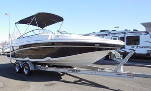 Used Ebbtide 2460 Z-Trak SS DC FC Deck Boat For Sale