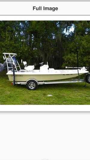 Used Back Country Bonefish Saltwater Fishing Boat For Sale
