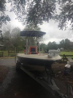 Used Shearwater 2200 CC Center Console Fishing Boat For Sale