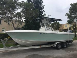 Used Bluewater 2350 Center Console Fishing Boat For Sale