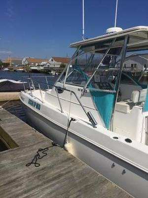 Used Seacraft 25 Sport-Cat Walkaround Fishing Boat For Sale