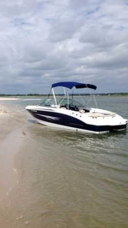 Used Chaparral H2O Ski and Fish Boat For Sale