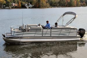 Used Bentley Pontoons 240 Fish Pontoon Boat For Sale